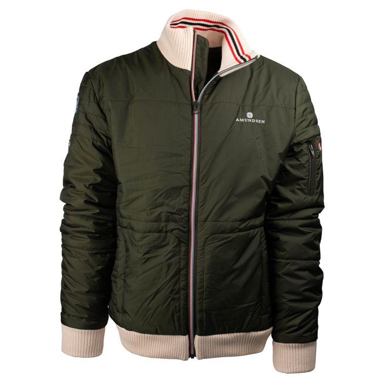 Breguet jacket til herre fra amundsen sports. fargen er grønn og prodktbildet vises forfra