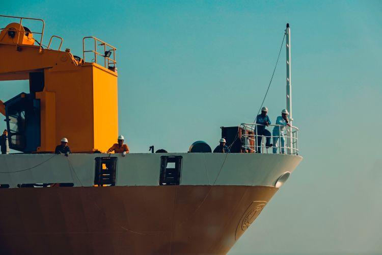 People on ship