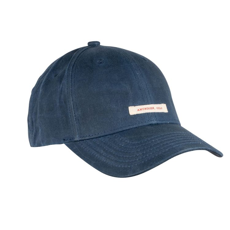 Waxed Cotton Caps fra Amundsen Sports i fargen faded navy