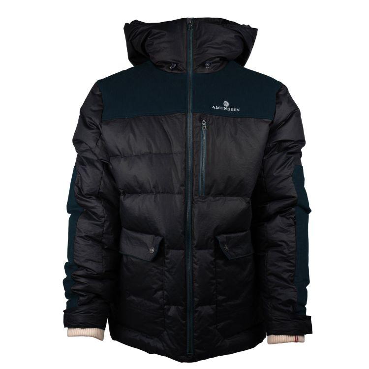 Groomer Jacket i grønt til herre fra Amundsen Sports. Produktbilde sett forfra