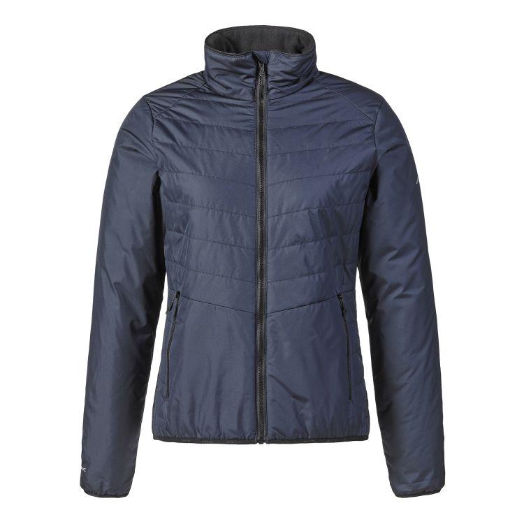 W Corsica Primaloft Jacket til dame fra Musto. Jakken er blå og produktbildet viser jakken forfra
