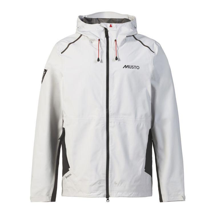 LPX gtx Infinium Aero Jacket fra Musto i fargen platinum til herre. Produktbildet viser jakken sett forfra