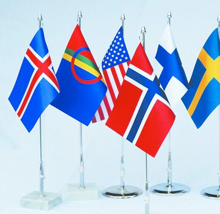 internasjonale bordflagg