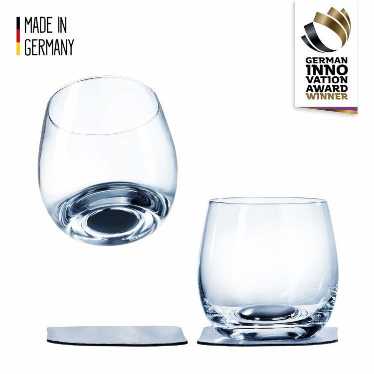 silwy whiskey glass med magnetisk bunn. Produktbilde