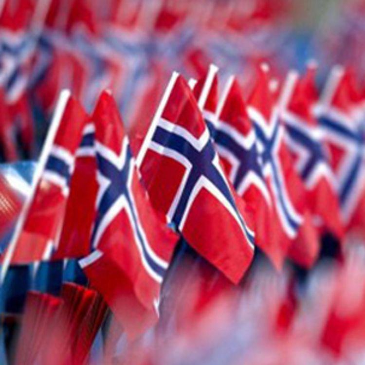 hurrapakke norske flagg