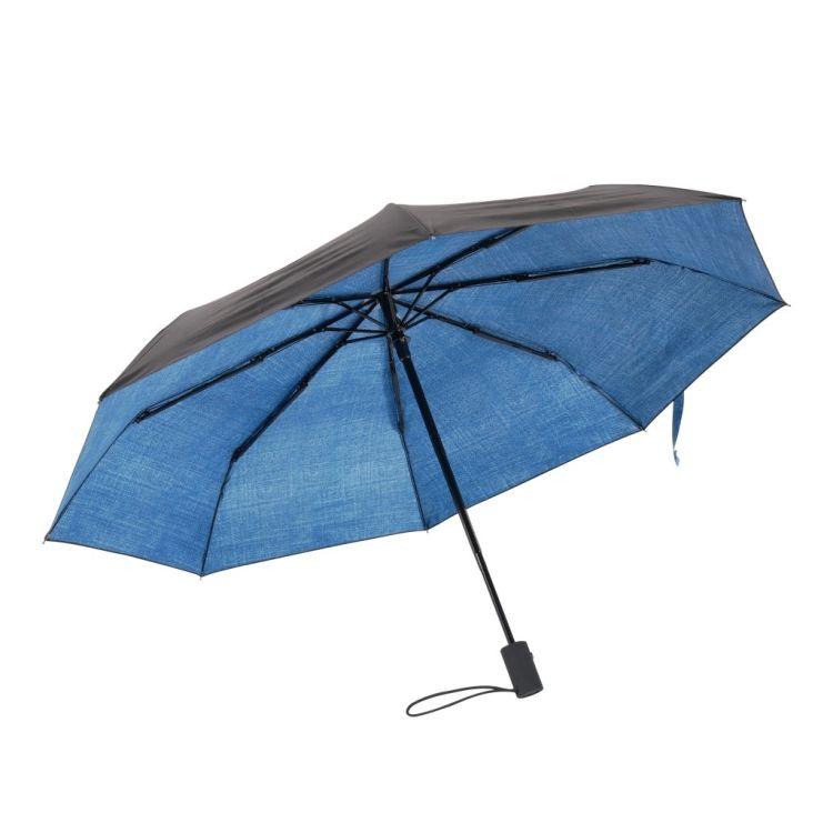 Paraply fra Happysweeds i designet denim.