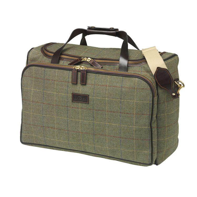 woodhay weekend bag fra Laksen i tweed