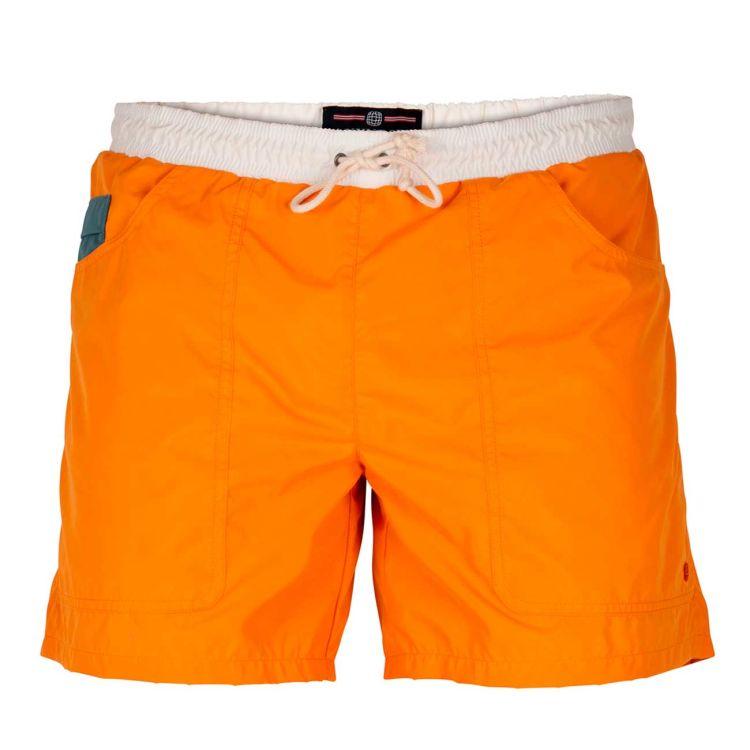 6 Incher Dipper shorts til herre fra amundsen sports i fargen offwhite/desert. produktbildet viser shortsen sett forfra
