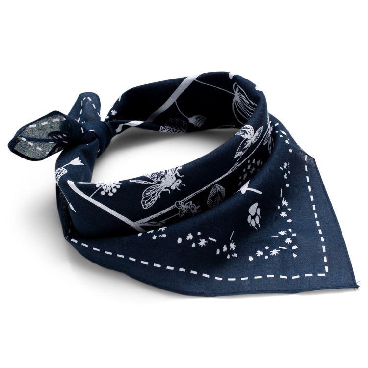 Vagabond bandana fra Amundsen Sports i blå.