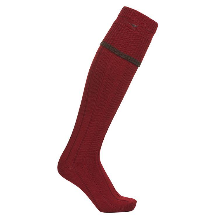 Colonial stocking fra Laksen i fargen Spice. Produktbilde