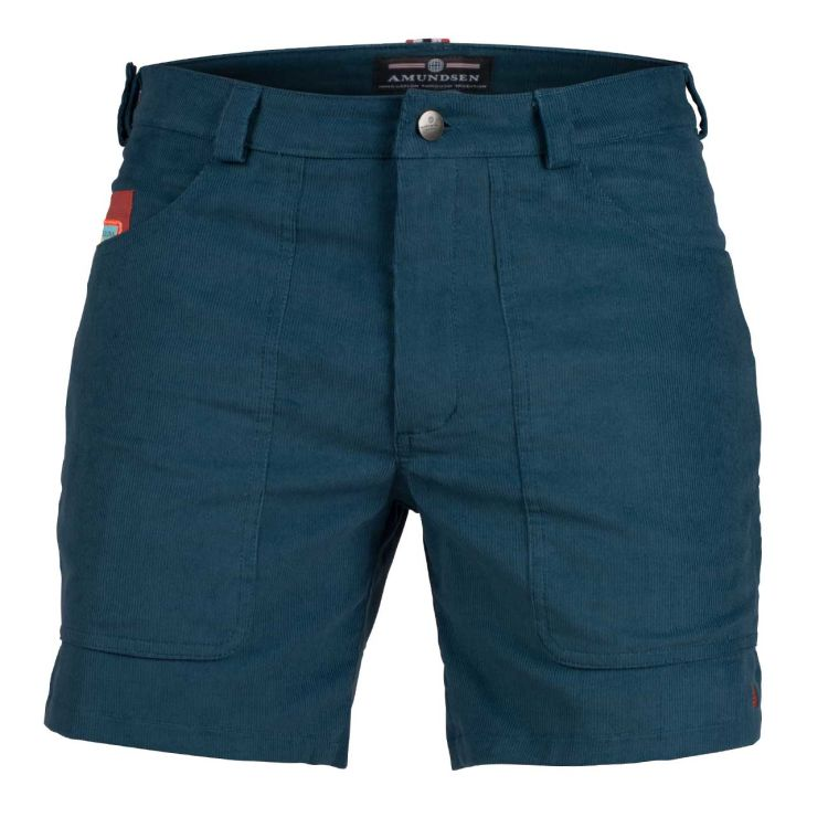 7 incher concord shorts fra amundsen sports til herre i fargen faded blue/natural. produktbildet viser shortsen sett forfra