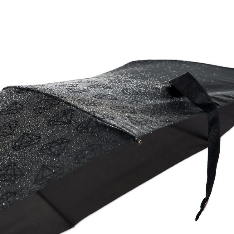 Paraply fra Happysweeds i designet diamond wet look.