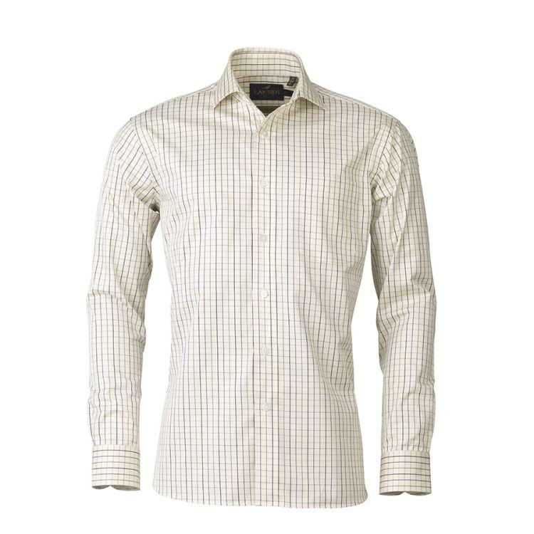 Archie Shirt fra Laksen. Produktbilde sett forfra