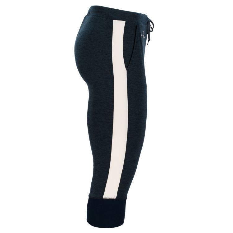 5Mila Kaybee Johns til herre fra Amundsen Sports, i fargen faded navy. Produktbildet viser buksen sett fra siden