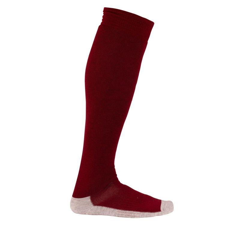 comfy sock fra Amundsen Sports i fargen ruby red. Produktbilde
