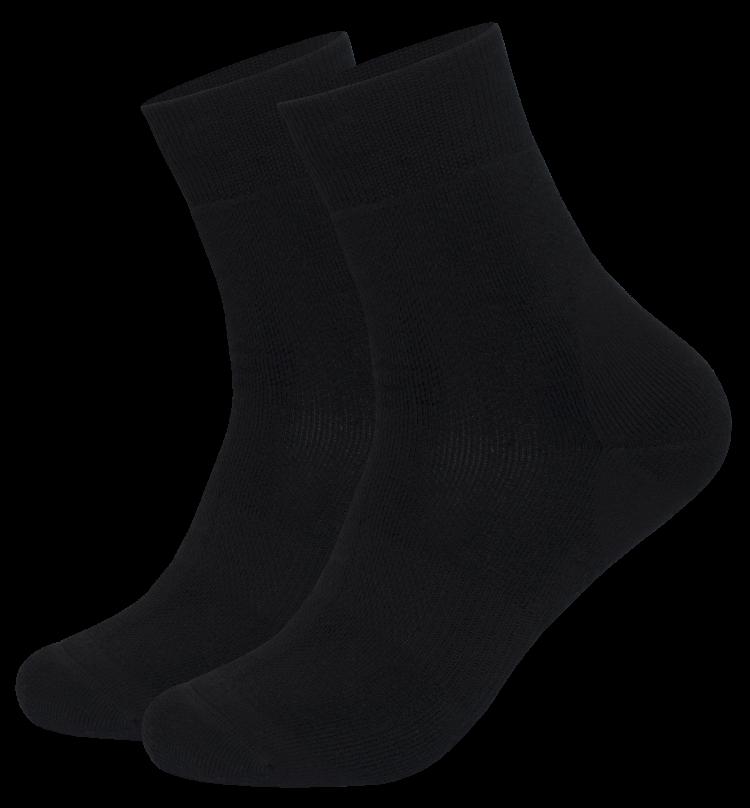 Crew sokker i sort fra Tufte Wear