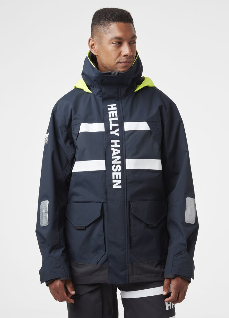 Salt Coastal Jacket fra Helly Hansen til herre i fargen Navy.