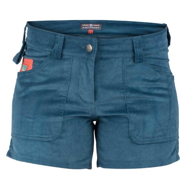 5 Incher concord shorts til dame i fagren FadedBlue/Natural. Produktbildet viser shortsen sett forfra