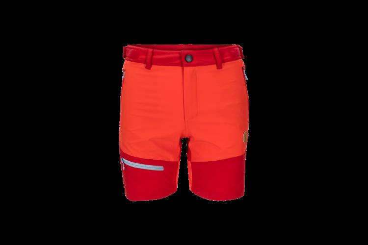 Womens Vipe Shorts i fargen Grenadine fra Tufte Wear. Produktbildet viser shortsen sett forfra