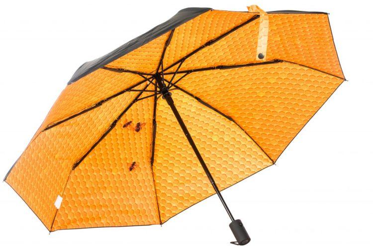 Paraply fra Happysweeds i designet honey.
