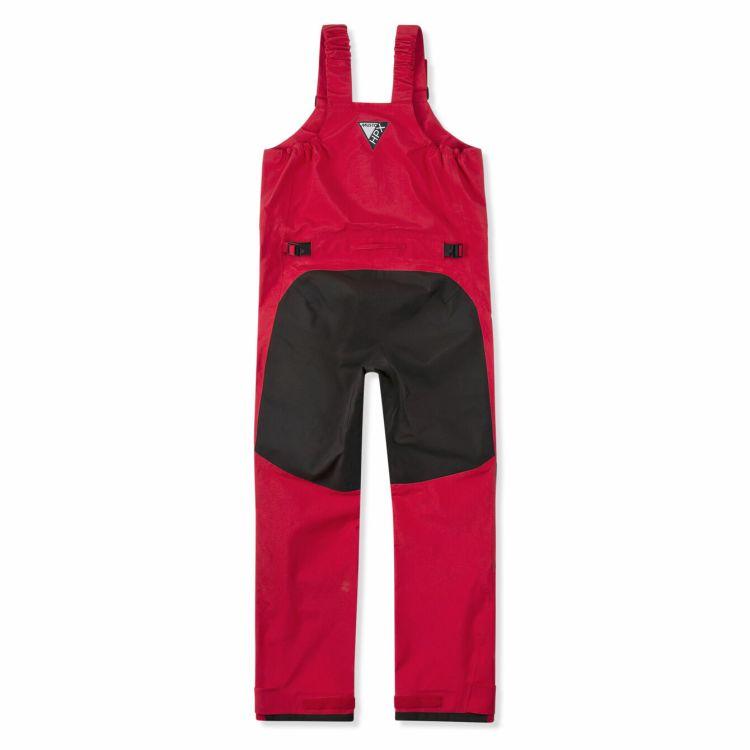 HPX Ocean Trousers i fagren true red fra Musto. Produktbilde av buksens bakside