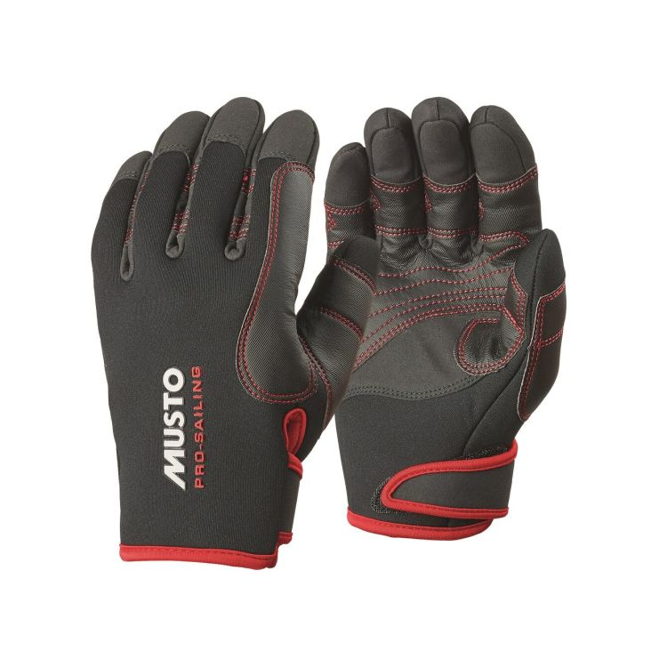 musto performance winter glove sort i par