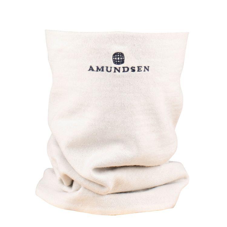 5mila neckwarmer i hvit fra amundsen sports.