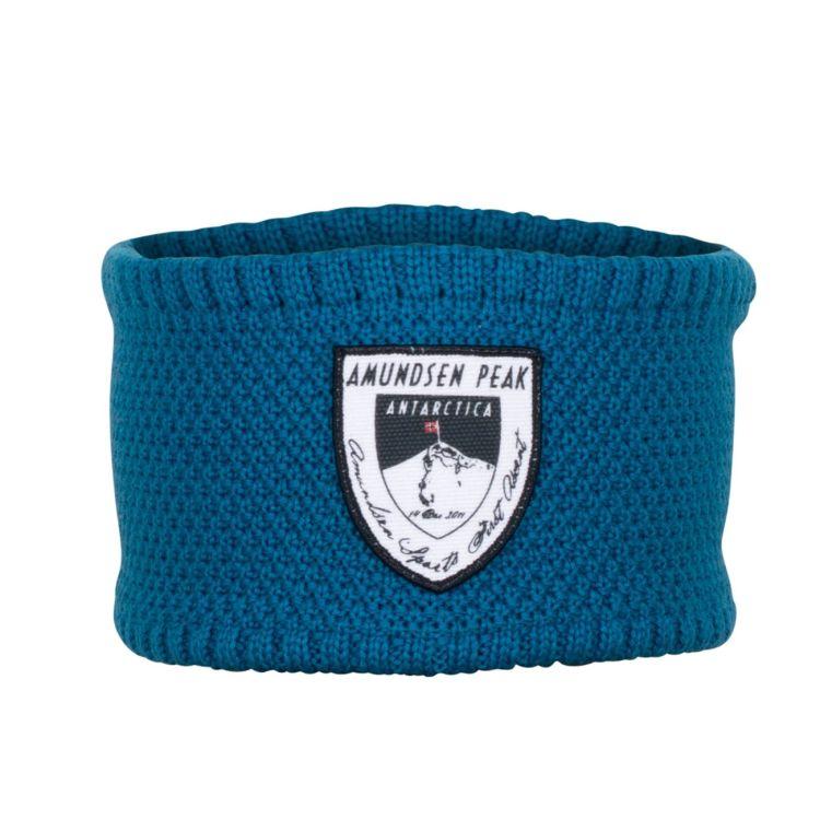 Peak headband i fargen crisp blue, fra Amundsen Sports