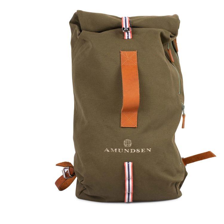 vagabond day pack grønn amundsen sports.produktbilde sett forfra