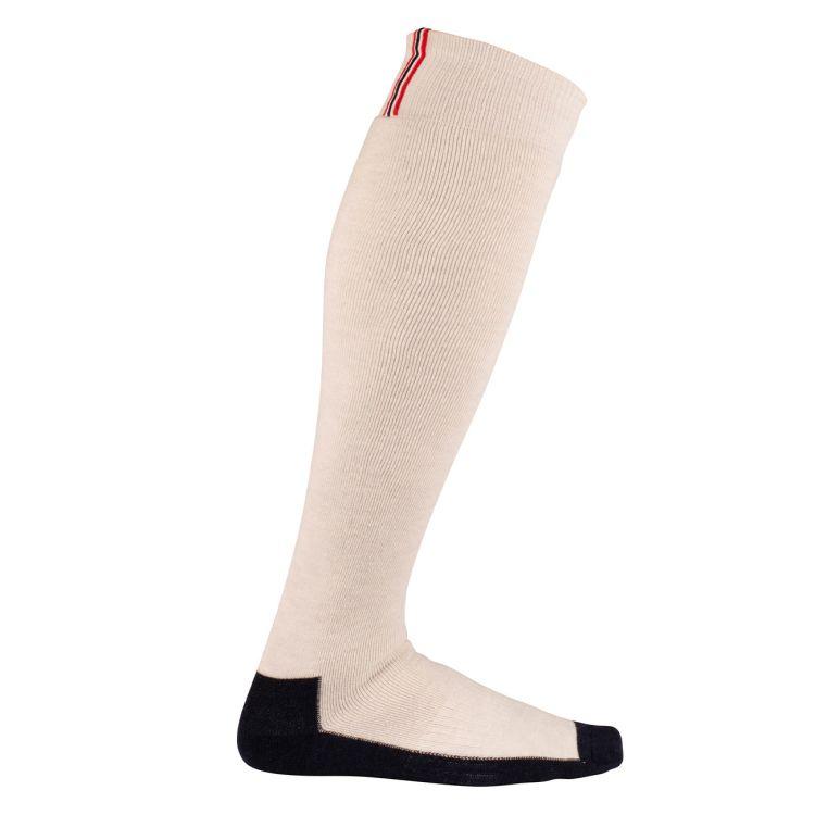 comfy sock fra Amundsen Sports i fargen oatmeal. Produktbilde