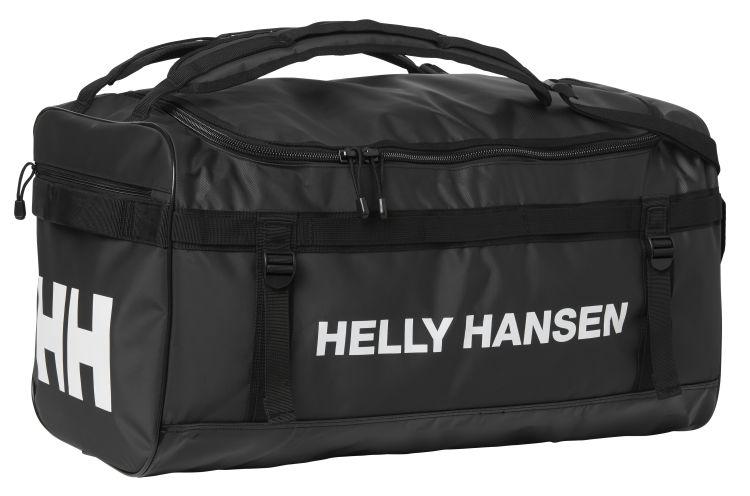 helly hansen classic duffel bag 70 liter sort langsiden