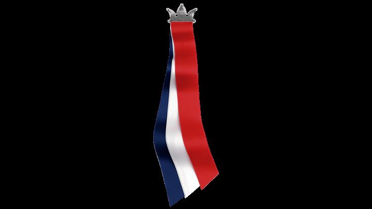 17.mai sløyfe fra Sylvsmidja - Krone i oksidert sølv