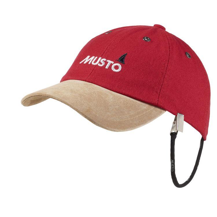 Musto original crew cap rød