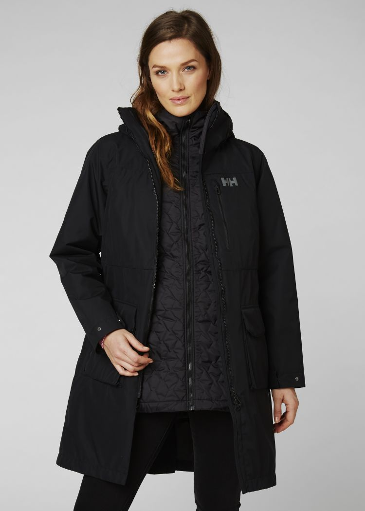 helly hansen rigging coat dame onbody front