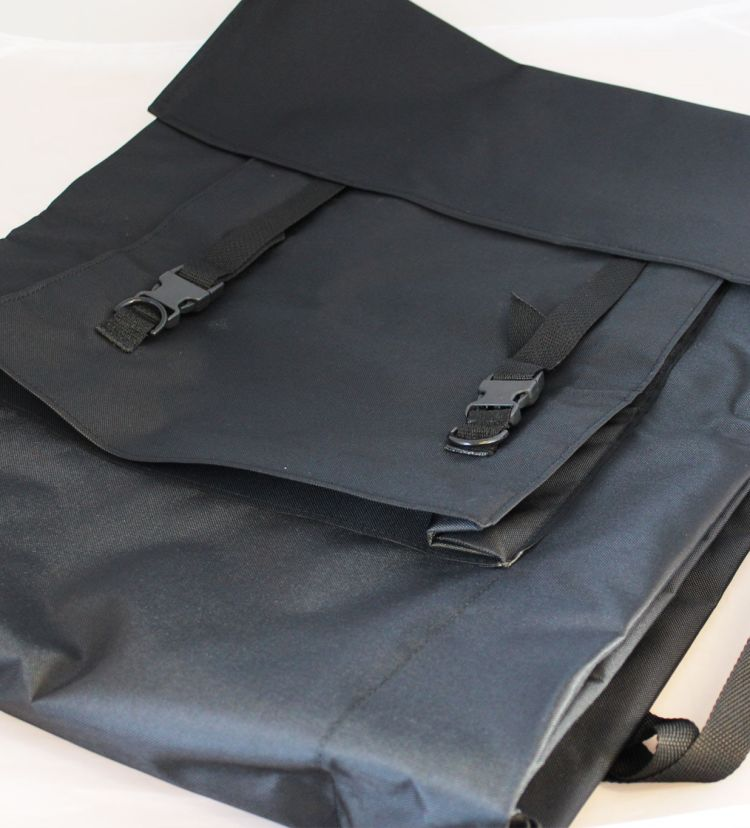 Transportbag til fane sort