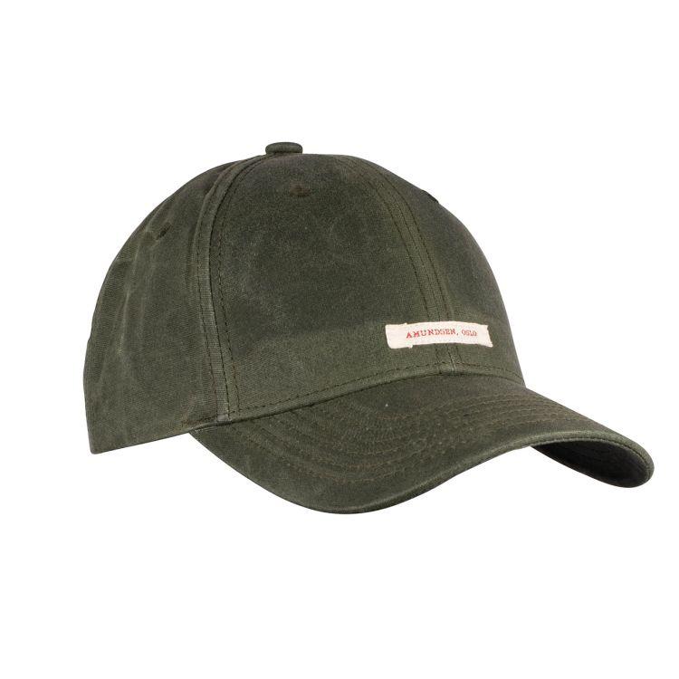 Waxed Cotton Caps fra Amundsen Sports i fargen olive