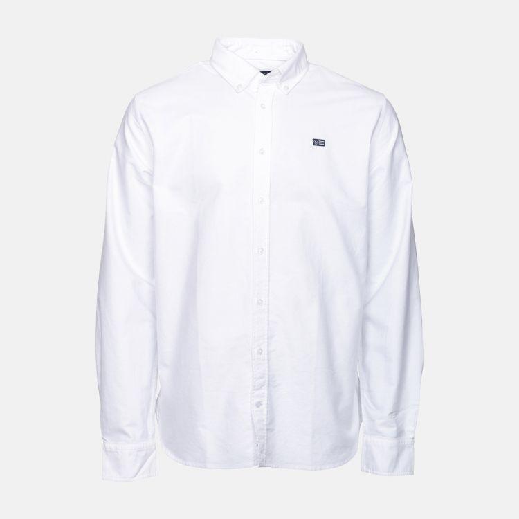 oxford classic skjorte fra sebago hvit produktbilde