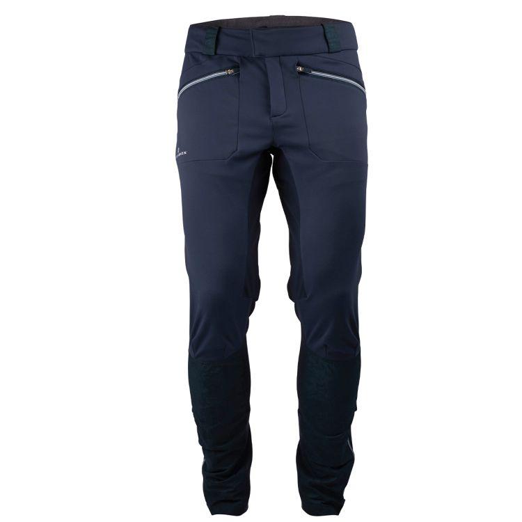 5Mila Pants fra Amundsen Sports i fargen faded navy til herre. Produktbilde av buksen sett forfra