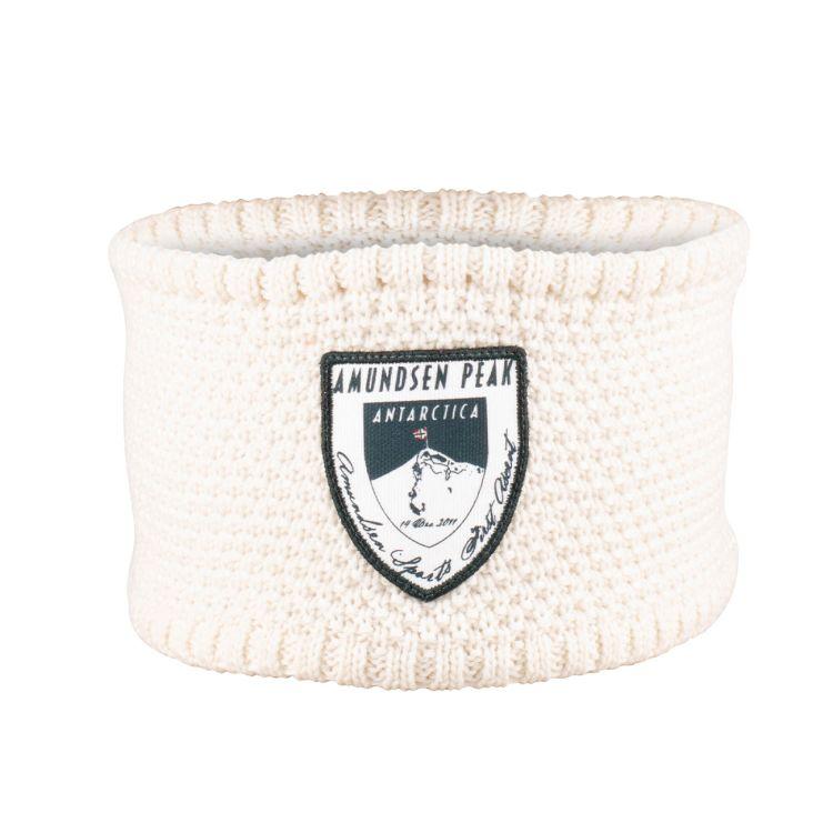 Amundsen Peak Headband i hvitt fra Amundsen Sports