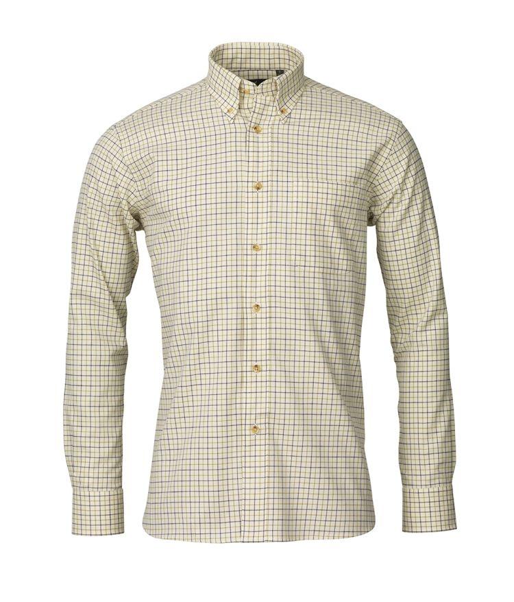 Parker skjorten fra Laksen Sporting. Produktbildet viser skjorten sett forfra