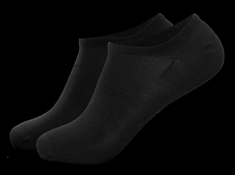 Low sokker i sort fra Tufte Wear