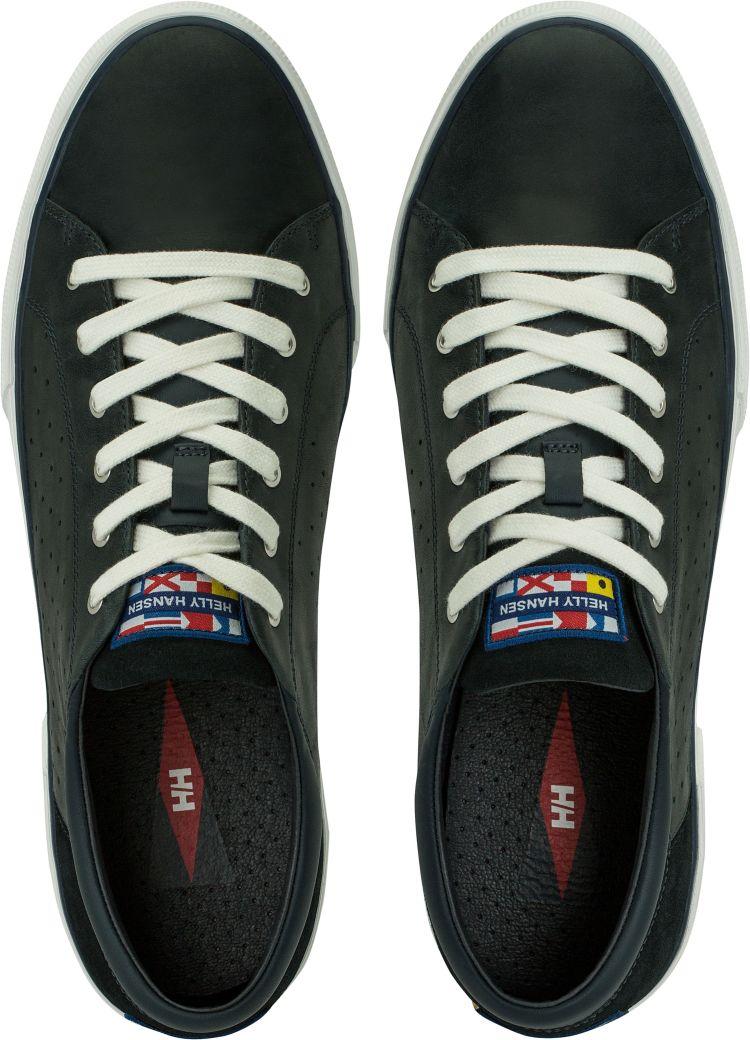 Copenhagen Leather Shoe fra Helly Hansen i blått skinn