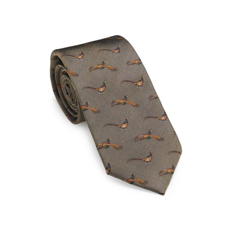 Flying pheasant slips i fargen camel fra laksen sporting