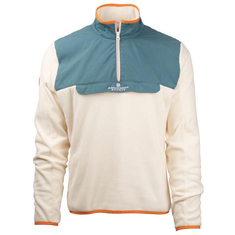 roamer fleece amundsen sports. blå produktbilde forfra