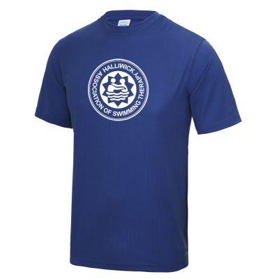 Halliwick Cool Tee Royal Blue