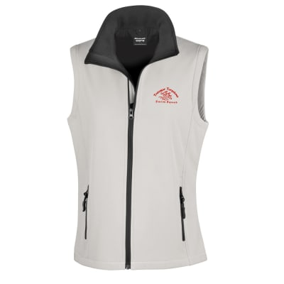 Torpedoes Soft Shell Womens Gilet White