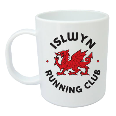 Islwyn Running Club Mug