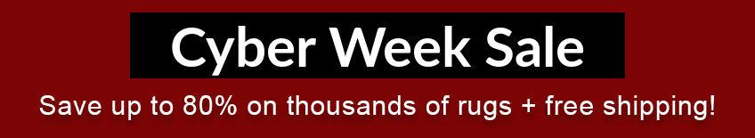 Cyber Week Rug Sale