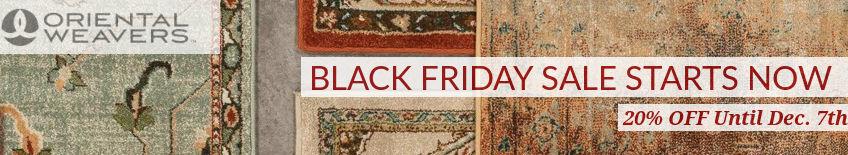 Oriental Weavers Black Friday Rug Sale