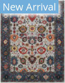 Amer Antiquity ANQ-15 Navy Area Rug